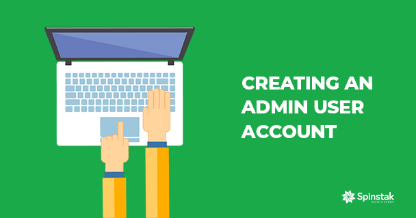 Creating an Admin User Account Featured Image